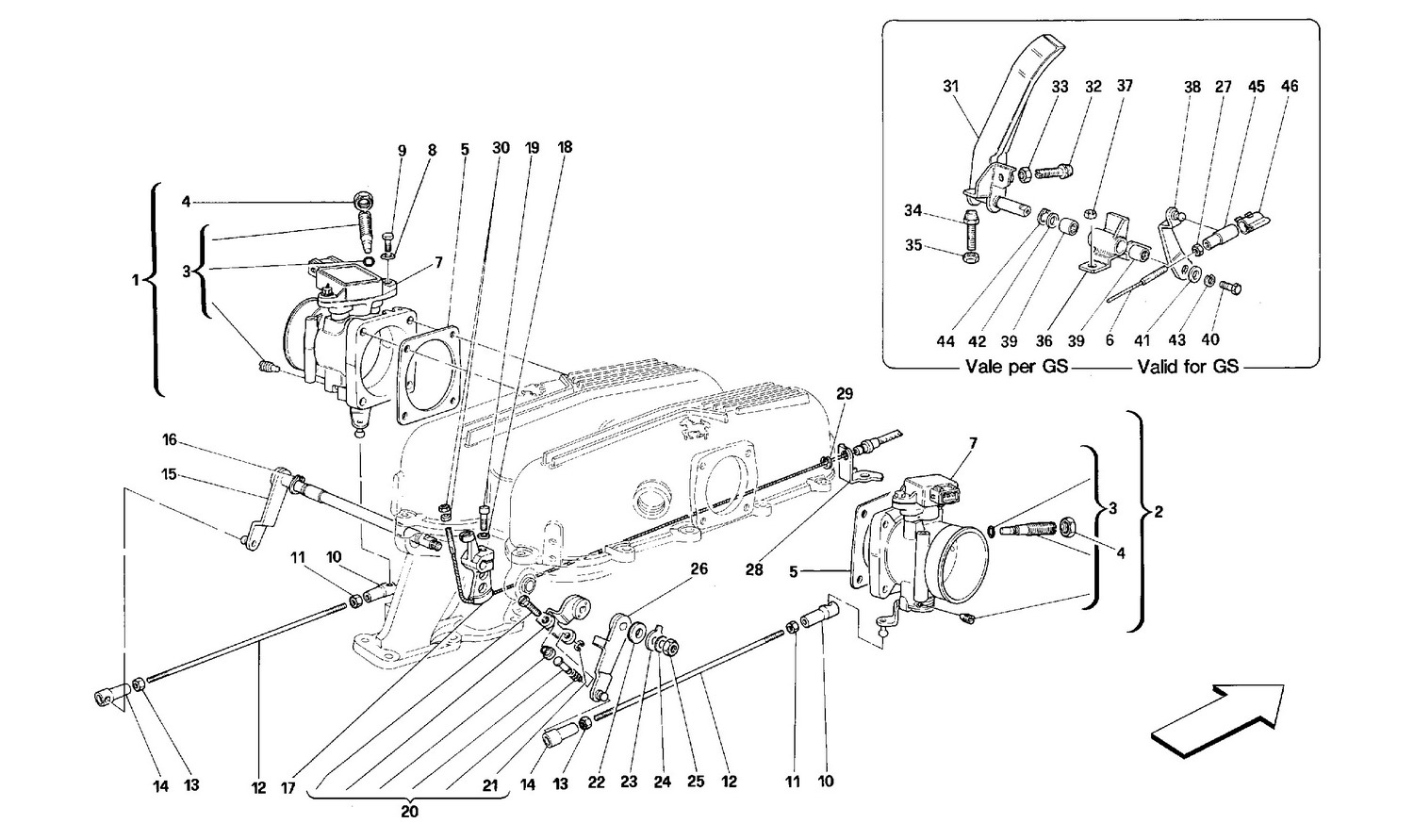 Table 14 - Throttle Housing And Linkage