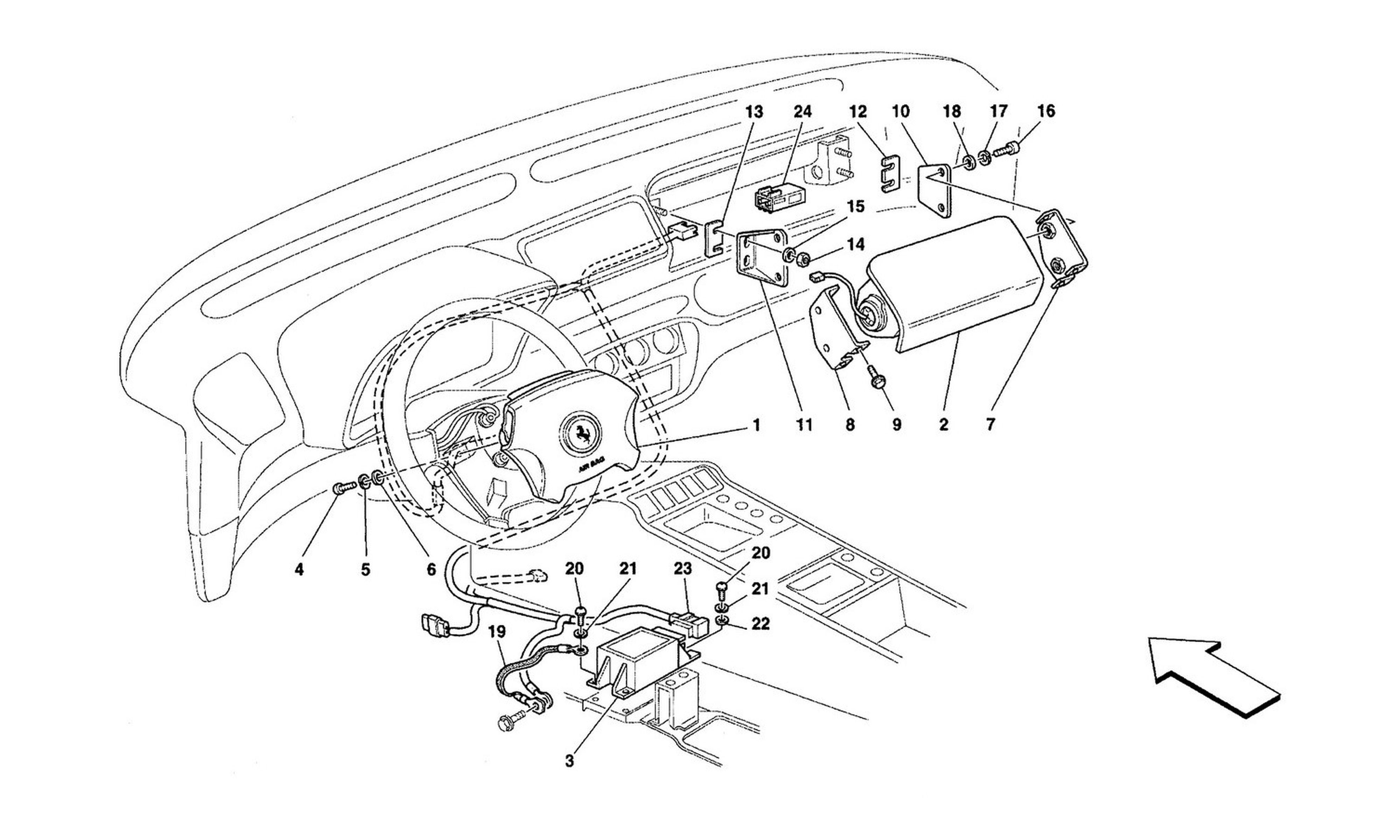 schematic: air-bags