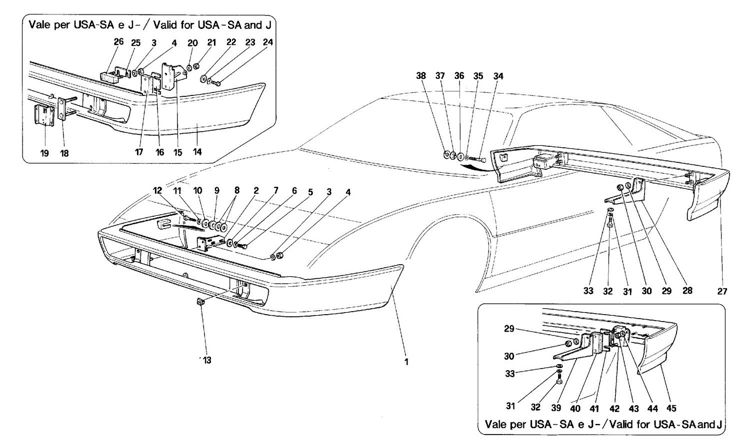 Schematic: Bumpers